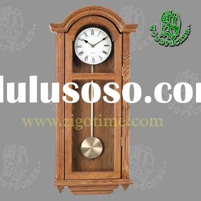 Clock (wood pendulum clock, quartz clock, wall clock, wooden clock)