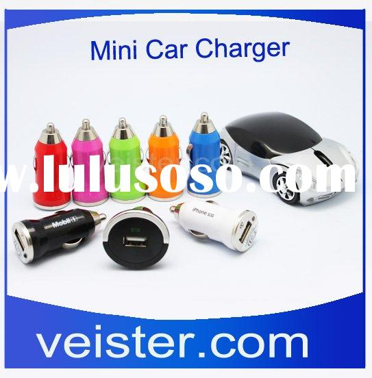 Colorful USB Car Charger For Samsung Galaxy Tab P1000