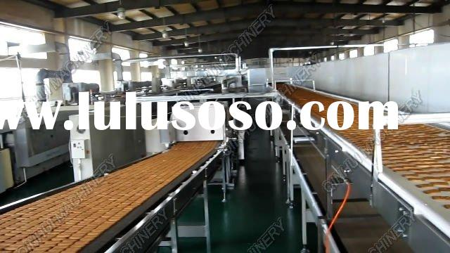Complete& Full Automatic Biscuit Making Plant