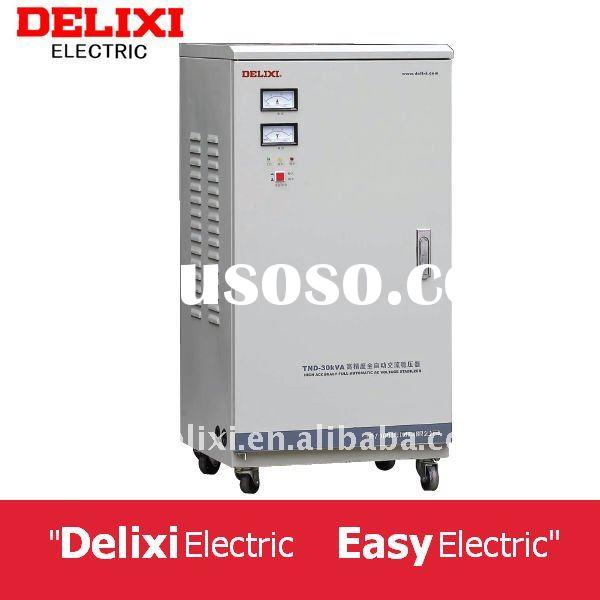 Delixi Brand TND 10000W 220V Automatic Universal Refrigerator Voltage Protector AVR AC Power Voltage