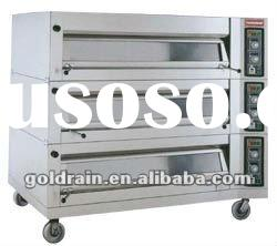Different capacity electric deck baking oven