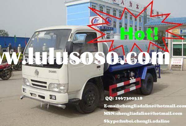 Dongfeng used water tank truck for sale