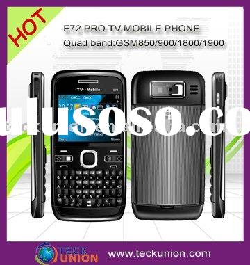 E72 PRO quad band TV mobile phone