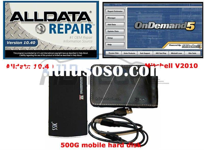 Fast & Free shipping for car repair software alldata 10.40