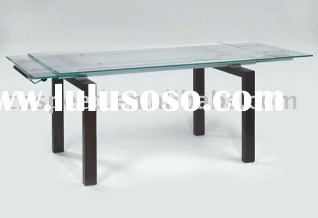 Glass Extension Dining Table NDT-015