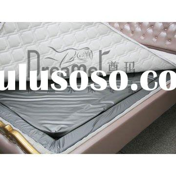 Healthy water bed mattress cover with zipper