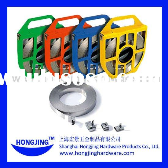 Heavy duty Stainless Steel Band,for outerdoor signs,poles,telcomm