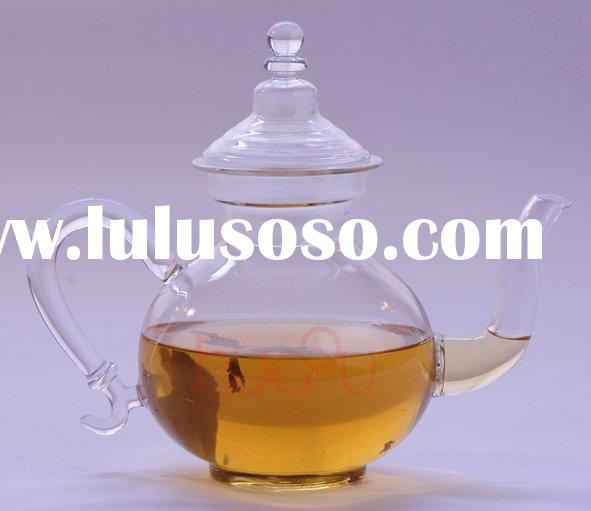 High Quality Glass Teapot With Steel Filter(Heat-Resistant Glass Teapot)