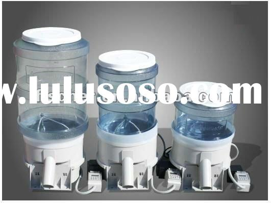 High quality of auto fish feeder,auto pond feeder with digital timer