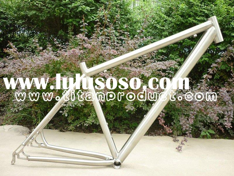 Hot Sale!!! Beautiful 29ER Titanium Mountain Bike Frame in Top Quality