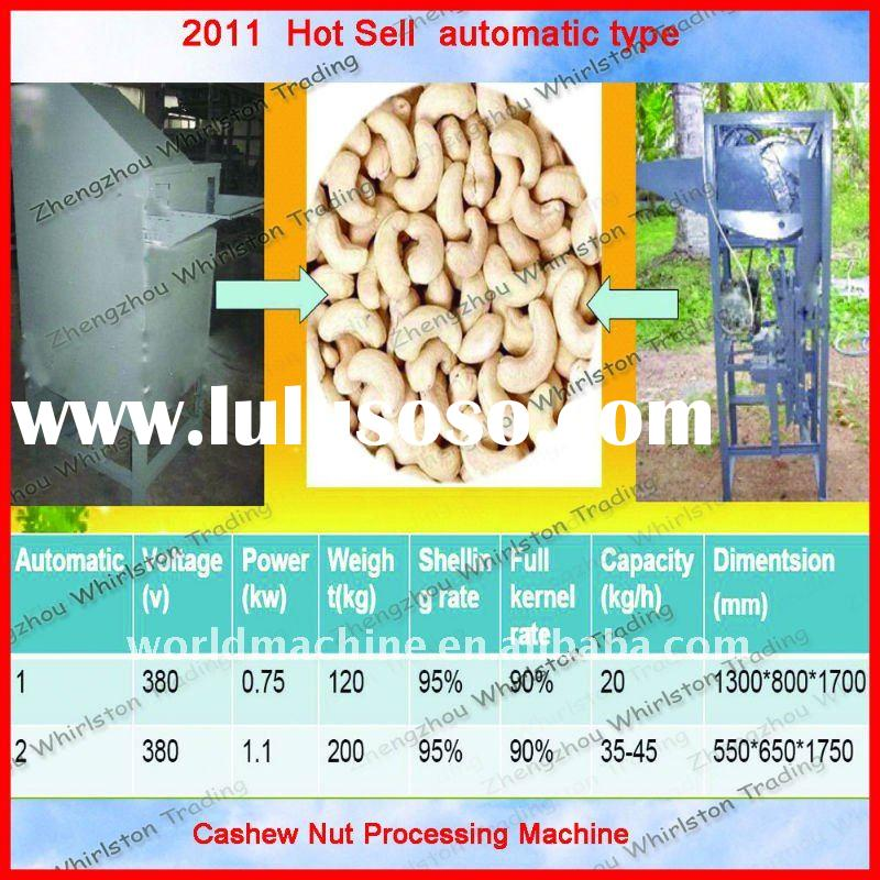 Hot sale automatic electrical cashew nut processing machine