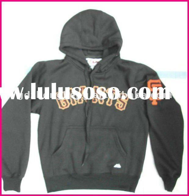 Hot sell Baseball Hoodies San Francisco Giants Black Hoodies Name and number are sewn on 100% cotton