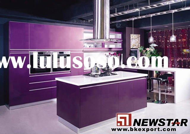 Kitchen Cabinet with Artificial Stone Countertop