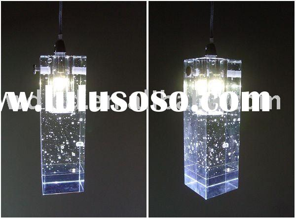 LED lights LED Pendant light LED bar light, crystal pendant light