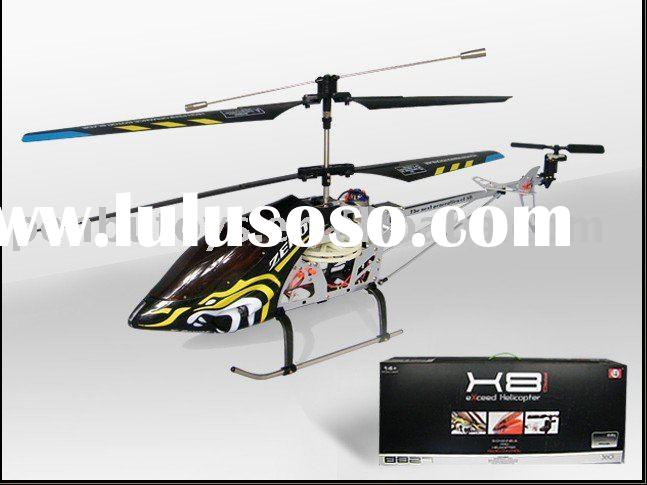 Large 3ch Gyro RC Helicopter Big (8827-1)