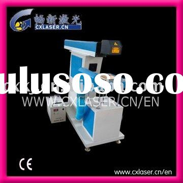 Laser Marking Machine for Plastic Mineral water bottle marking date, time, logo to anti-fake