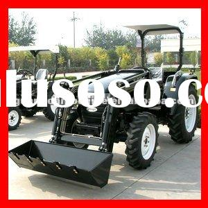 Low price 40hp agriculture tractor front end loader backhoe