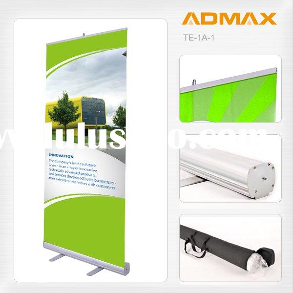 Mobile Portable Roll up Poster Banner Screen Stand for Event Promotion