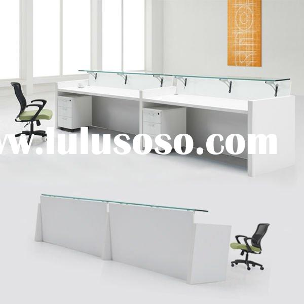 Modern Design Office Wooden Reception Counter TDO-JQ0342