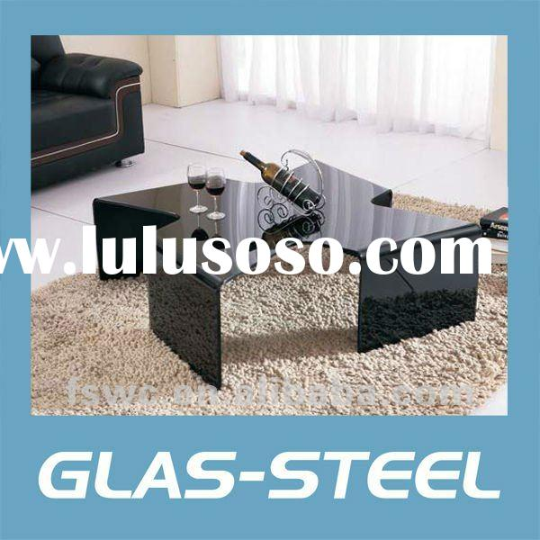 Modern furniture Coffee Table,Unique Cutting Living Room Sofa Table WC-CJ225