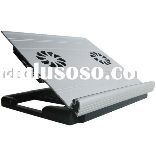 Notebook cooling pad with stand,cooling pad for notebook,aluminum notebook cooling pad