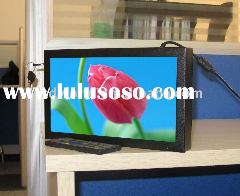 "OEM 10"" lcd in-store advertising player, shop shelf ad monitor, retail/in-store media player, r"