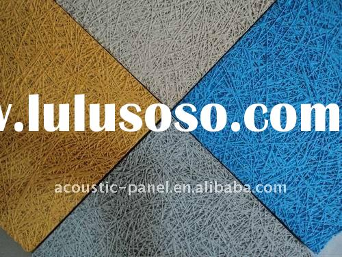 Paint Wood Wool Acoustic Panel YZ-WWP201