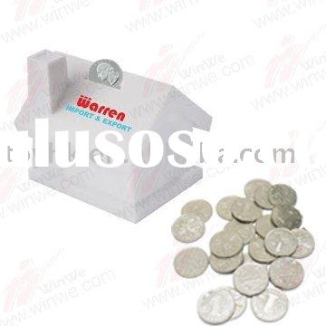 Plastic house money boxes