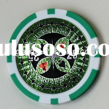 Poker Chips,Laser stick poker chips,Casino chip