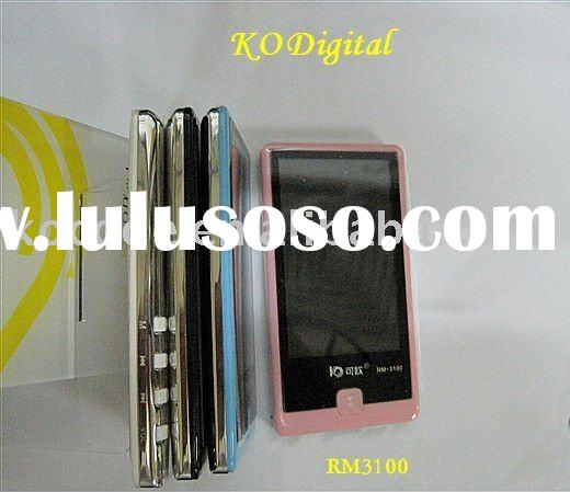 RM3700 4GB ultrathin Digital Video player mp4 player