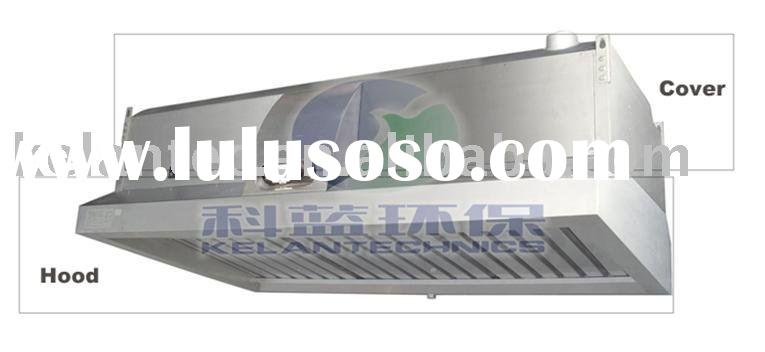 Range Hood ESP for Smoke-Free Commercial Kitchen Exhaust Emission