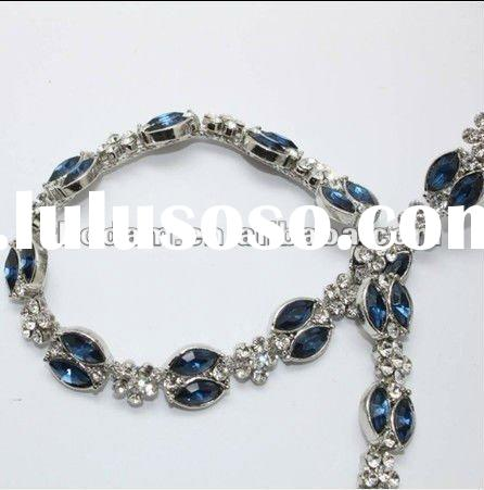 Rhinestone Crystal Sew On Chain Trimming