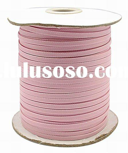 Soft Cotton Wax Cord, Pink Rope Wholesale(YC-R327-10)