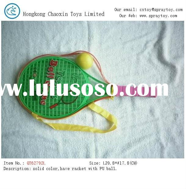Tennis rackets with ball