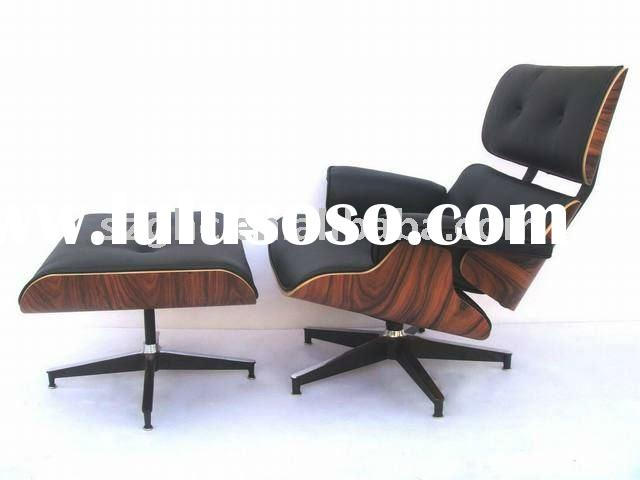 The Relax Eames Lounge chair with ottoman