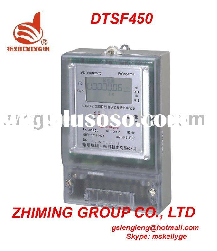 Three Phase Electric Multi-function energy Meter