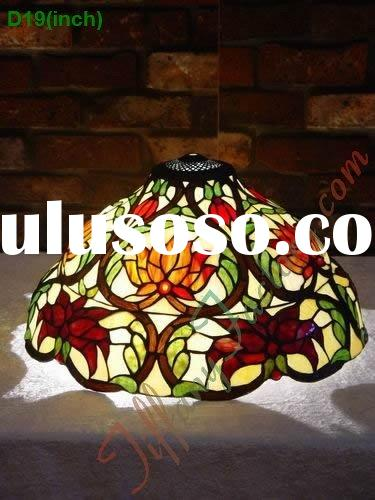Tiffany Stained Glass Lamp Shade-LS19T000015