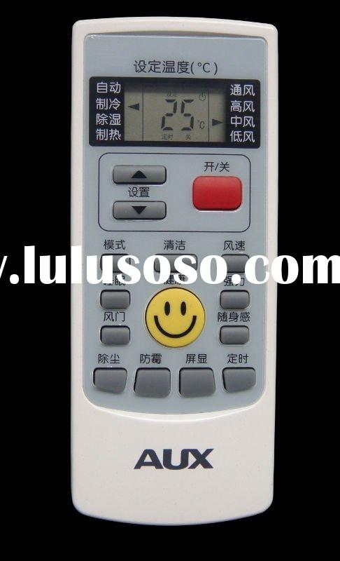 Universal air conditioner remote controller for AUX