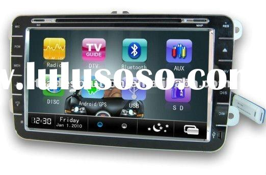 Volkswagen 8 Inch Android 2.3 Car PC DVD with GPS 3G WiFi Bluetooth iphone ipod support