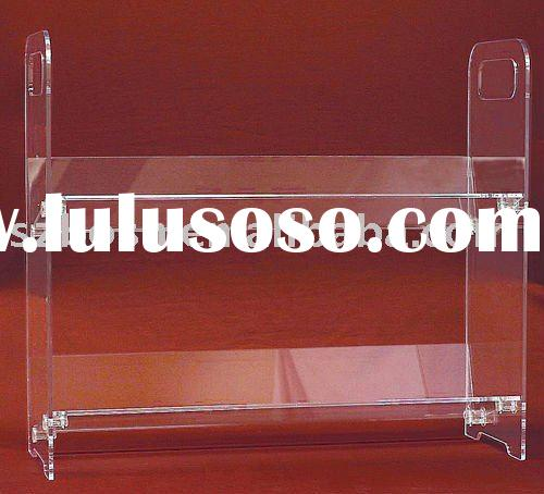 Wall Mounted Acrylic Display Shelf, Perspex Display Rack,Lucite Display Holder