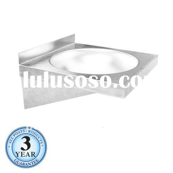 Wall-mounted sink bowl, bathroom bowl, stainless steel sink bowl PS-006