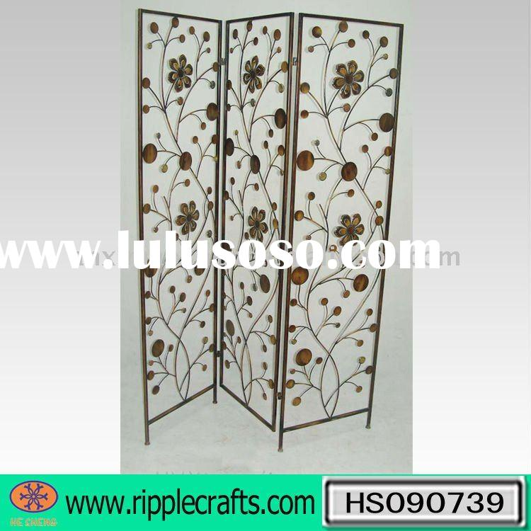 Wrought Iron Room Divider Curtain