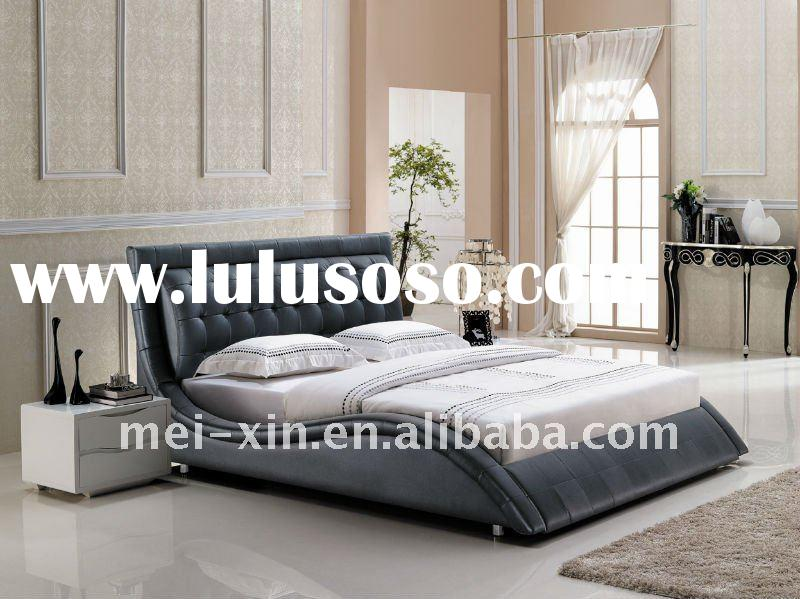 YY009 Hot Sale Leather bed set