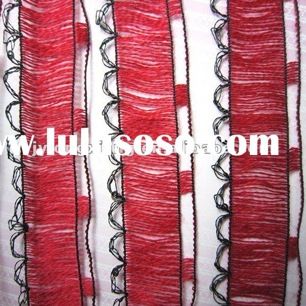 acrylic fishing net fancy yarn for knitting scarf