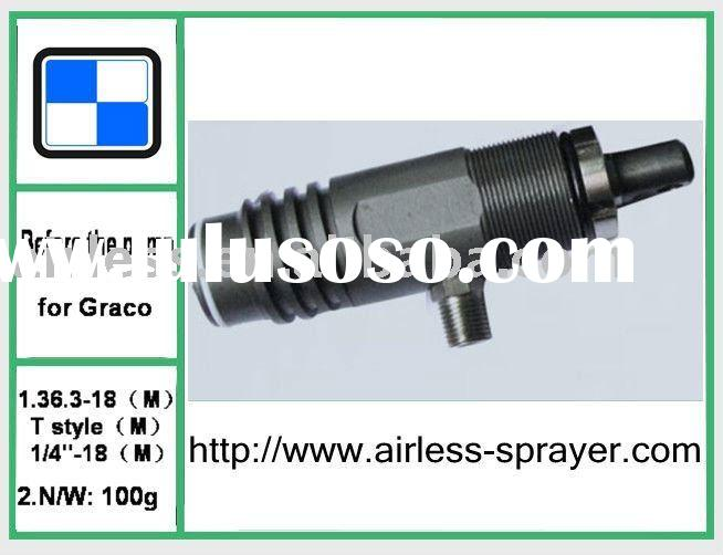 airless paint sprayer Graco piston pump