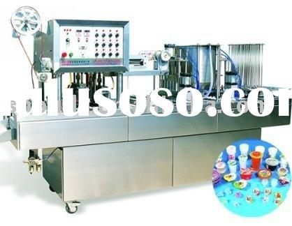 automatic water washing filling and sealing machine(cup)