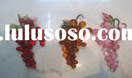 bunch green grape/artificial fruit/decorative artificial grape/natural grape vines