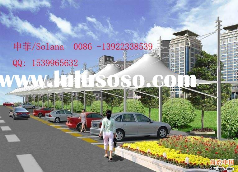 car roof tent,car parking shade awning tent,membrane structure