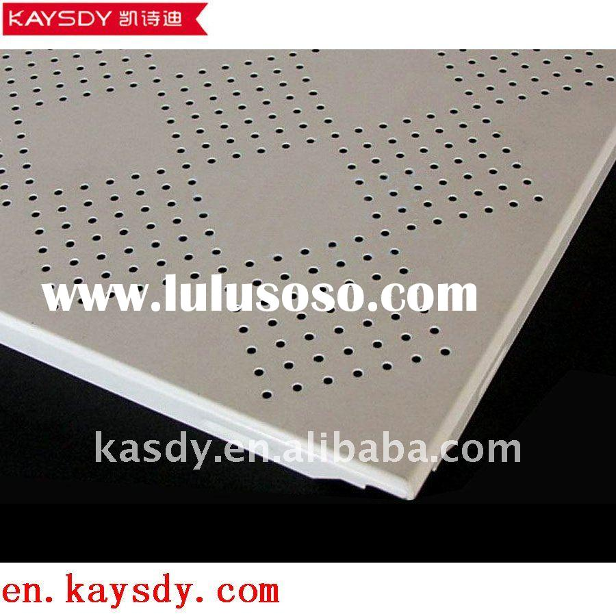 clips-in suspended ceiling tiles