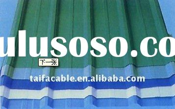 color coated corrugated aluminum roofing sheet